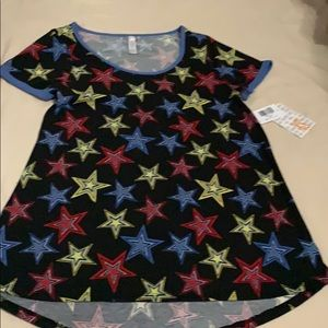 Top XS RED YELLOW BLUE KIDS SIZE